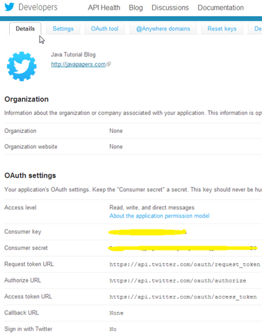How to Post to Twitter using Java,Post to Twitter using Java,Twitter using Java,