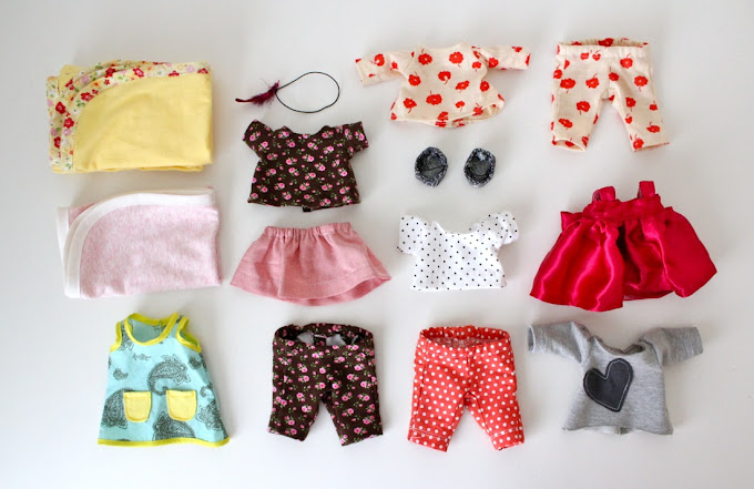 how to make clothes for stuffed animals without sewing