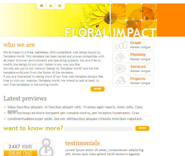 Ecommerce Site Name : Floral Impact