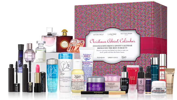 Selfridges Beauty Advent Calendar 2013 Review Contents