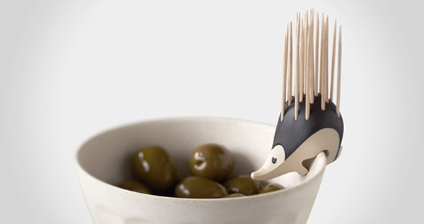 Kipik Hedgehog Toothpick Holder