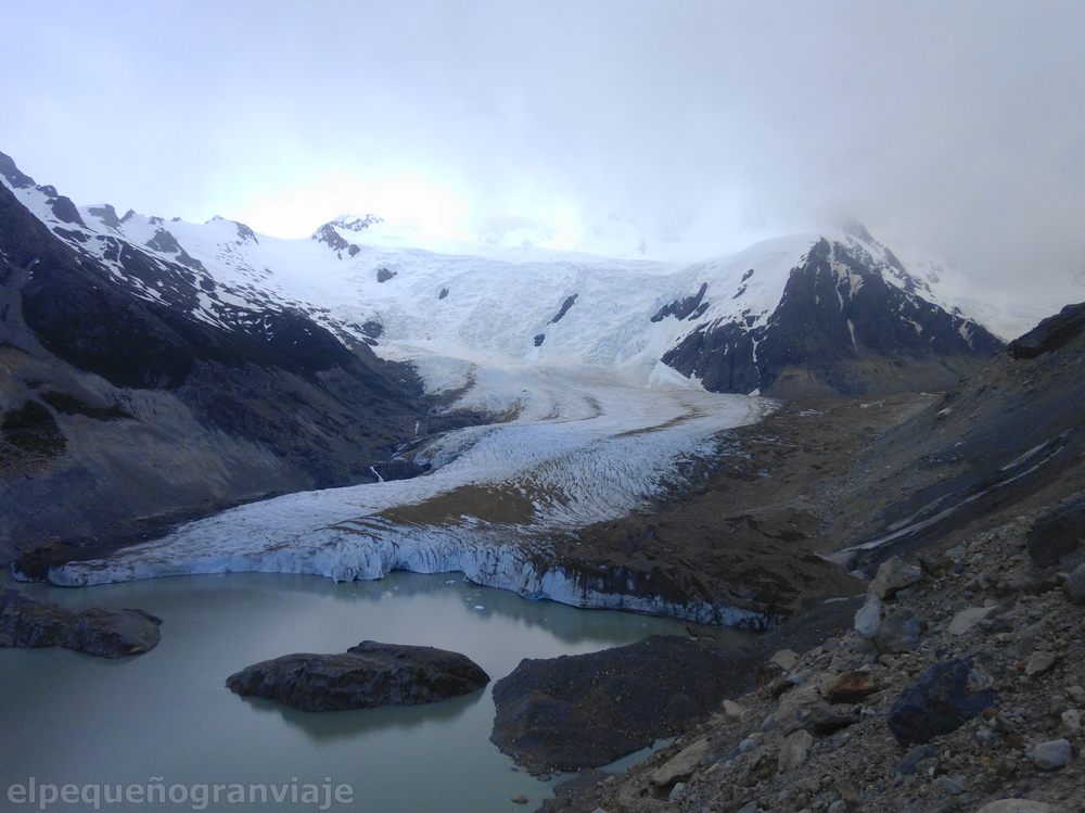 Laguna Torres, glaciar grande, Chaltén