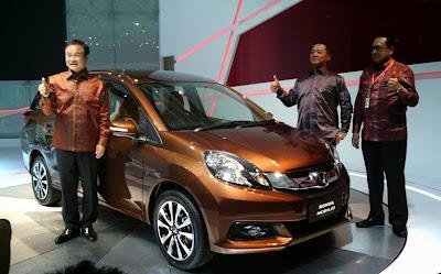 Honda Mobilio harga dan spesifikasi