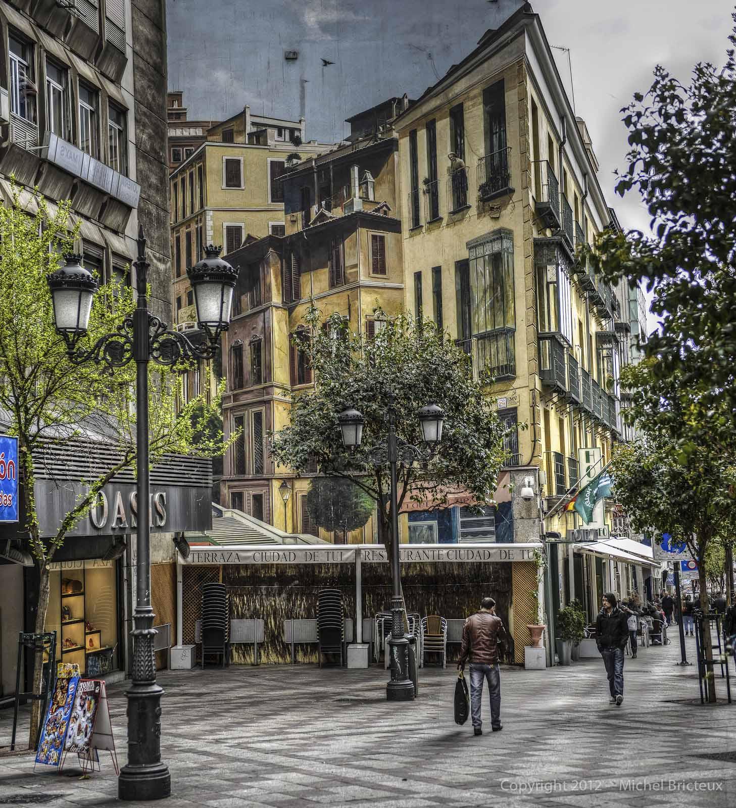 Nikon D800 : Calle Montera, Madrid