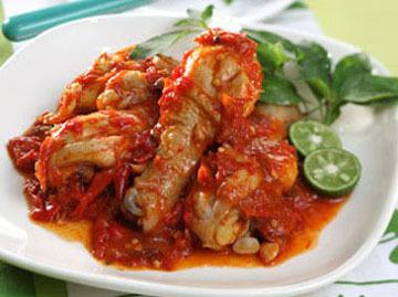 Resep Ayam Bumbu Srepeh
