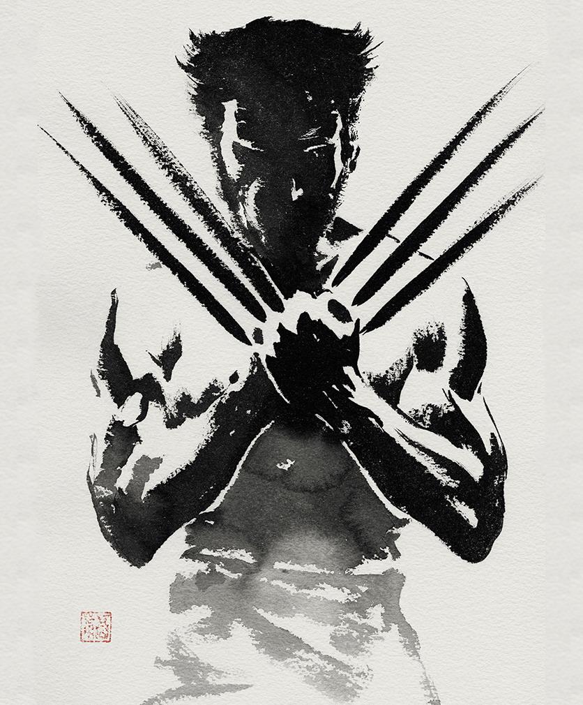 Wolverine Black grey Pic