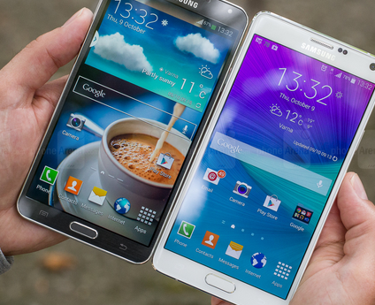 Perbandingan Antara Samsung Galaxy Note 3 VS Samsung Galaxy Note 4 Terbaru