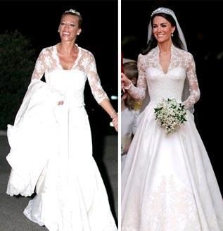 Vestido de novia belen esteban