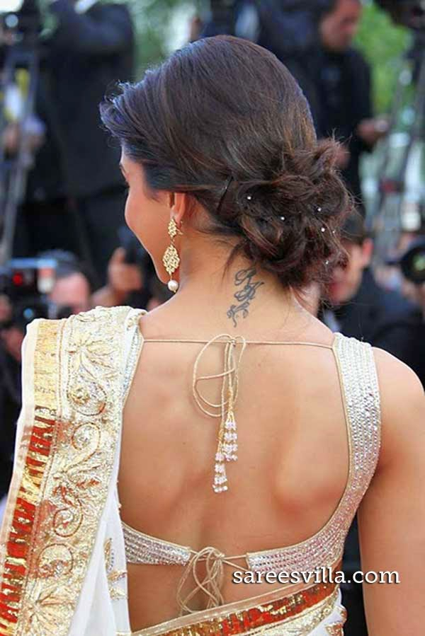 Deepika Padukone Bun Haristyle