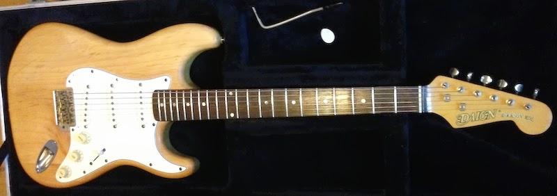 Daion Guitars Down Under