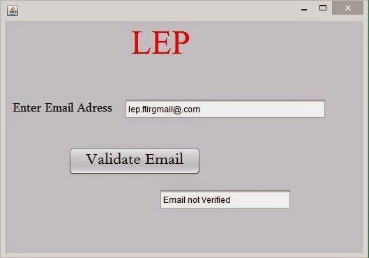 invalid Email Address