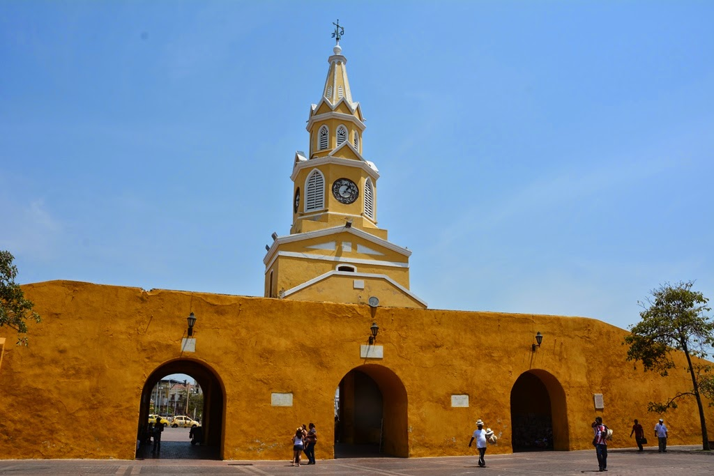 Cartagena des Indes tower