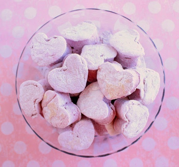 Kudos Kitchen By Renee - Homemade Heart Marshmallow Recips