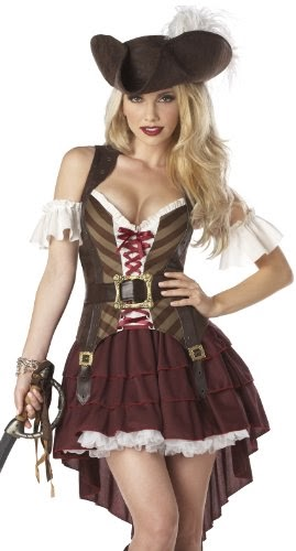 California Costumes Sexy Swashbuckler Set - $40.79