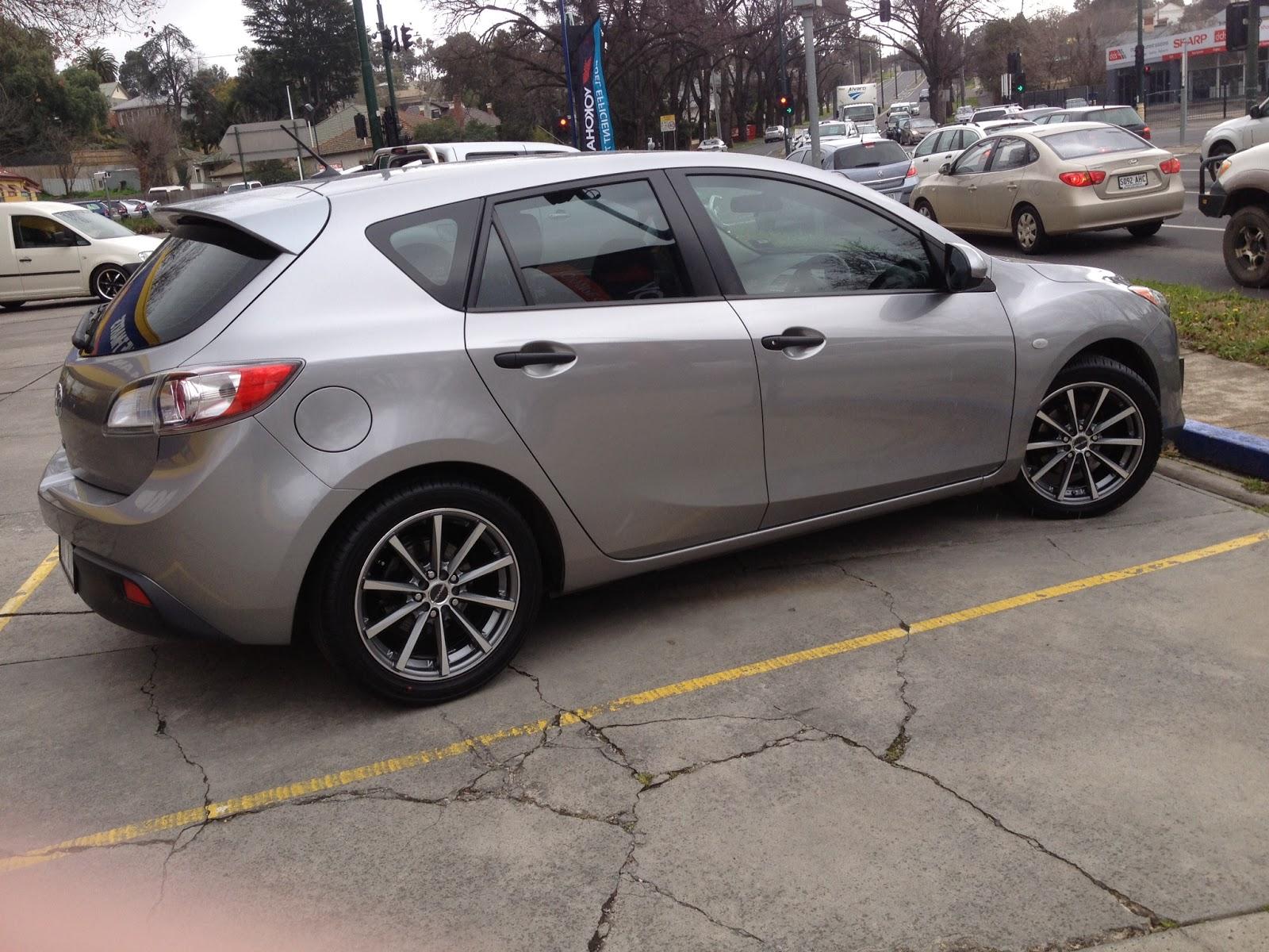 ECLIPSE 17 inch Mazda 3 Grey
