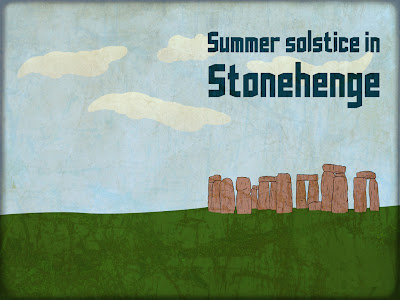 summer solstice powerpoint background