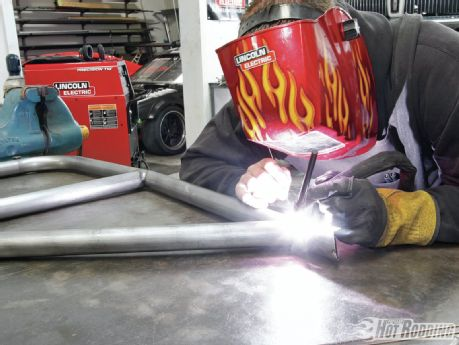 welding job Pipe Welder