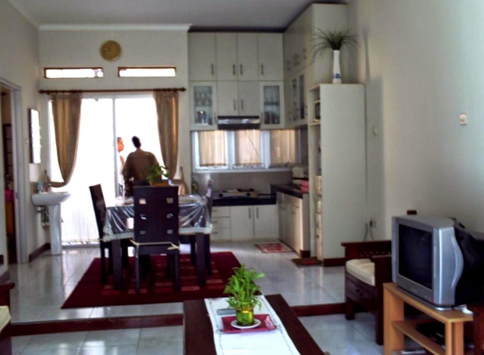 cara menata ruang tamu dan dapur