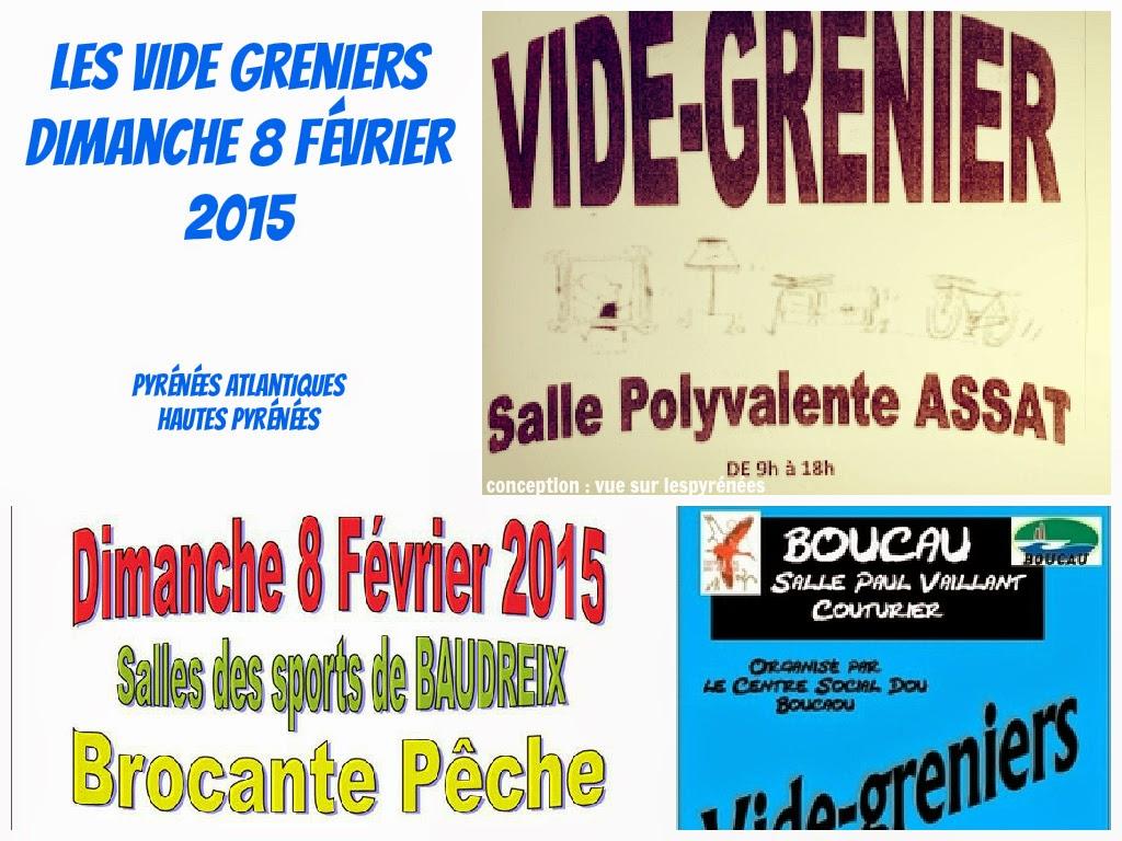 vide greniers 2015  Dimanche 8 Février 2015