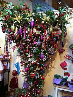 Life Is A Journey Upside Down Christmas Trees