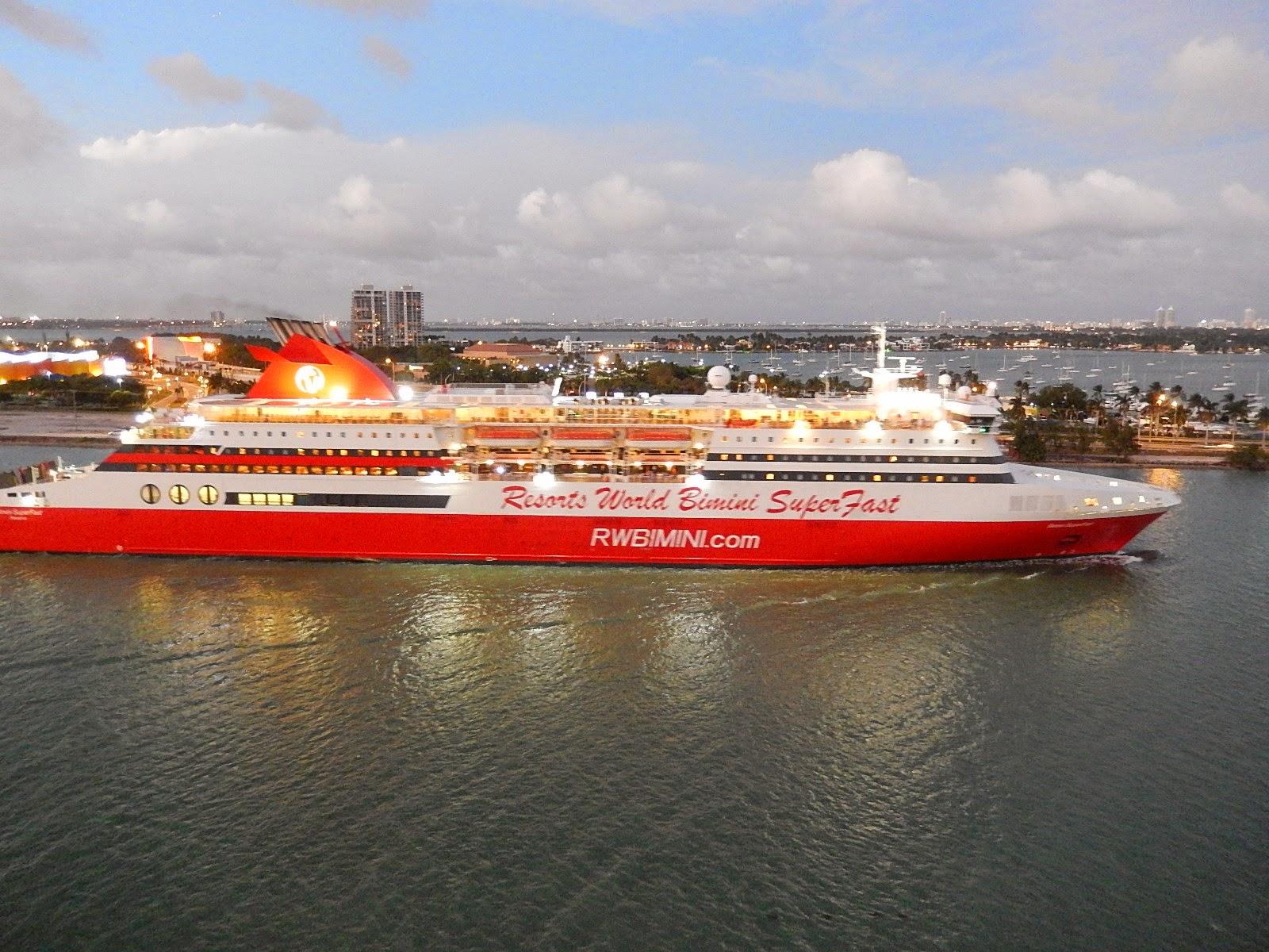 Save Pleasure Island Club Report Club Bimini Superfast - Bimini superfast cruise ship