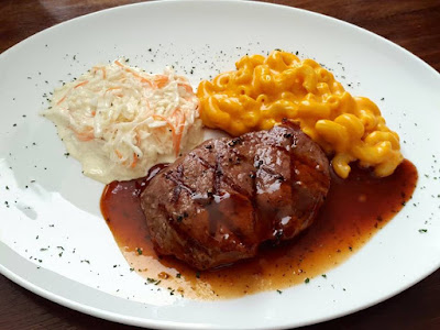 Tenderloin Steak at the Container Grill Bar & Bistro at Serpong