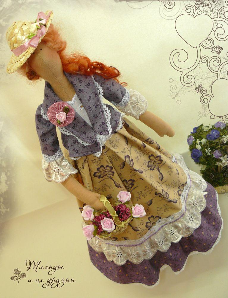 Как сшить многослойную юбку для куклы тильда 89