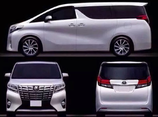 Cheat sheet for the New Generation Toyota Alphard!