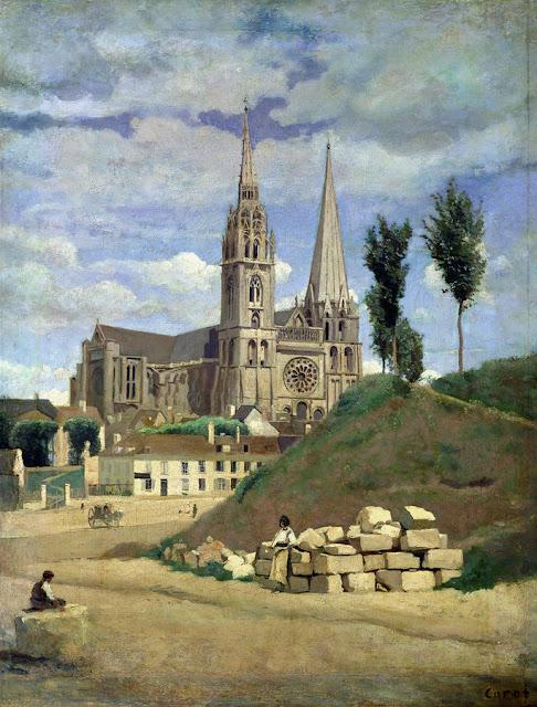 La catedral de Chartres de Corot
