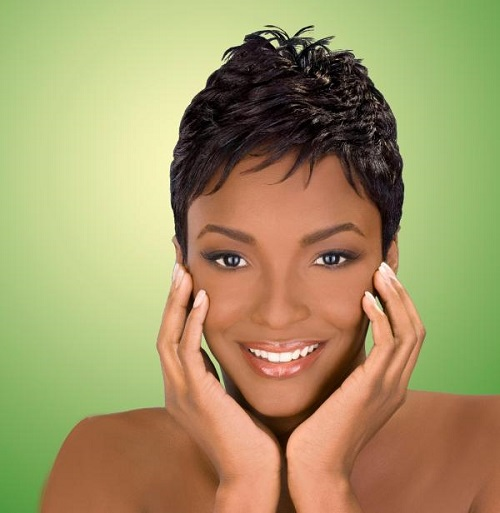 Pretty Spikey Hairstyles for Black Women