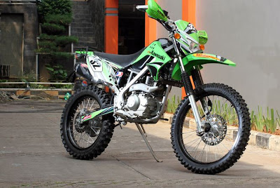 Modifikasi Kawasaki KLX 150 Adventure