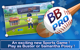 Screenshots of the Buster Bash Pro for Android tablet, phone.