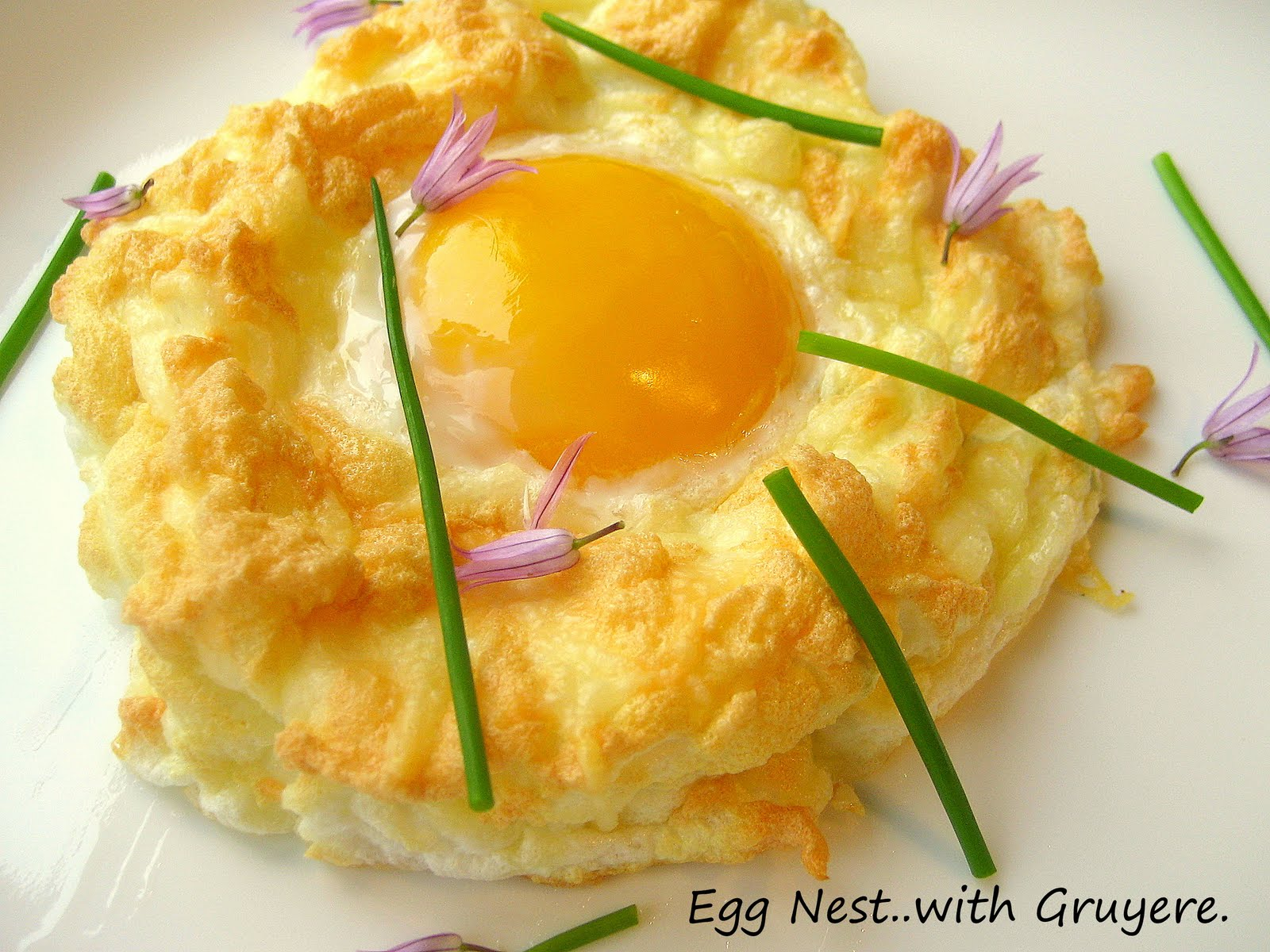 french egg nests with gruyere cheese i love love eggs and i really
