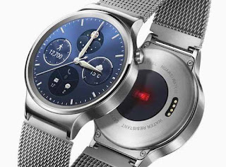 Smartwatch Android visual display Terbaik: Huawei Watch W1