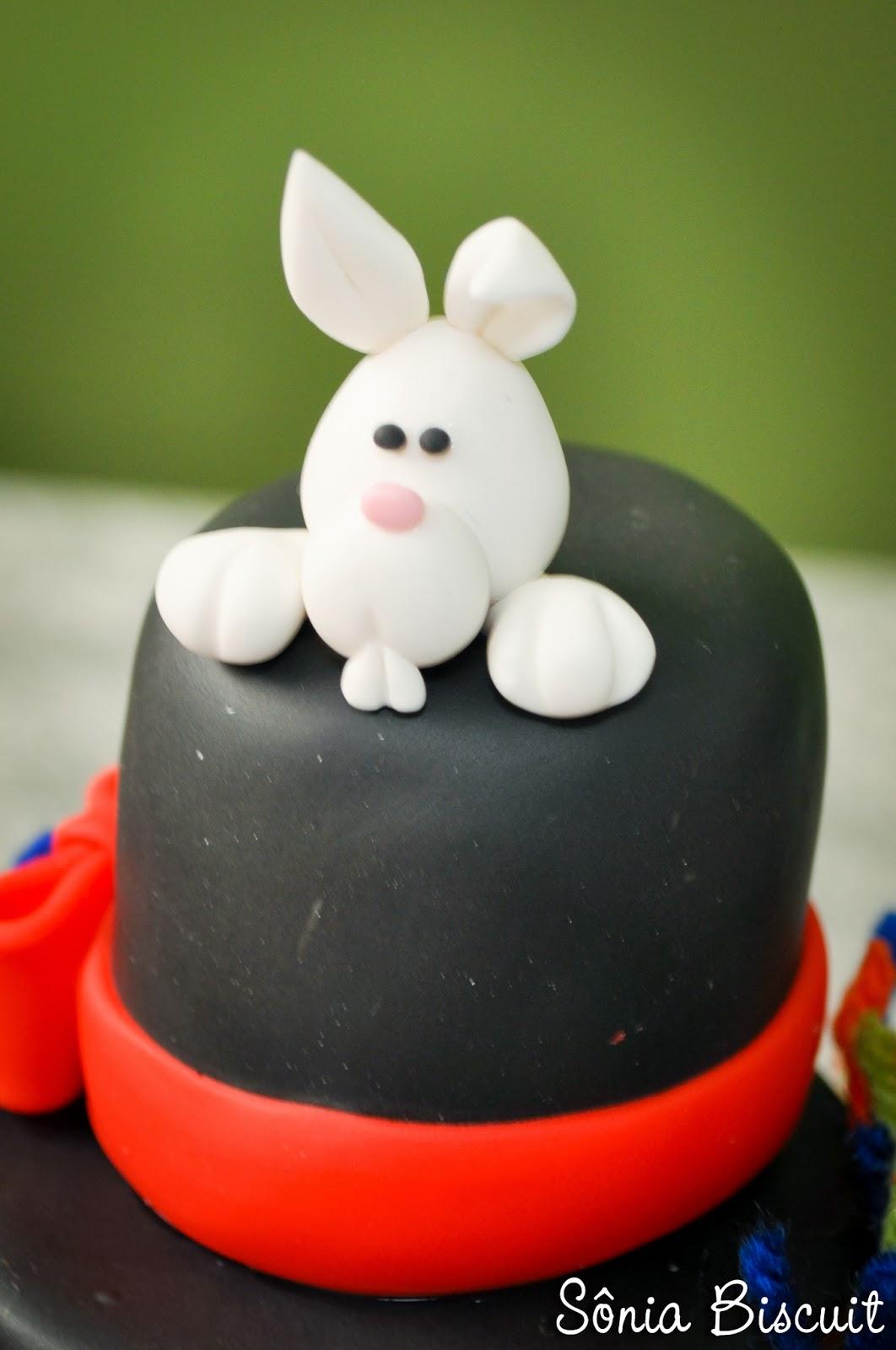 Vasinho Palhaço Biscuit Decoração Aniversário Palhacinho
