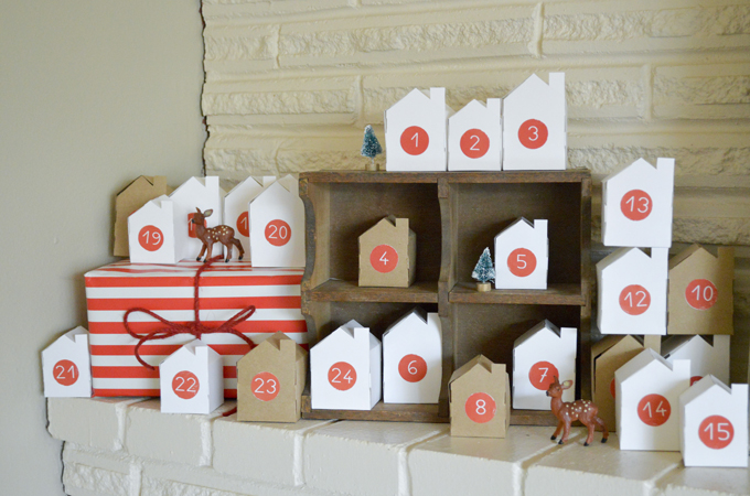 Little Village Advent Calendar by Swoon Studio