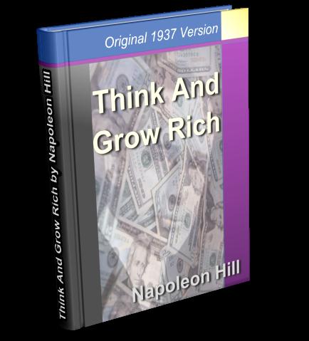 think and grw rich pdf