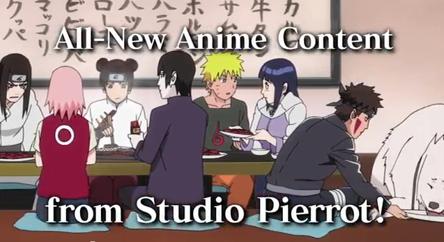 Naruto Shippuden Ultimate Ninja Storm Generations All-New Anime Content from Studio Pierrot