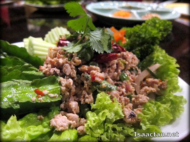 Turkey Thai Salad ( Larb Gai Nguang) - RM21