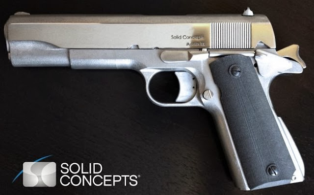 Watch the video of world's first 3D printed metal gun