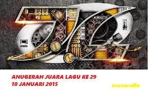 Siaran Langsung AJL 29 Anugerah Juara Lagu 2015