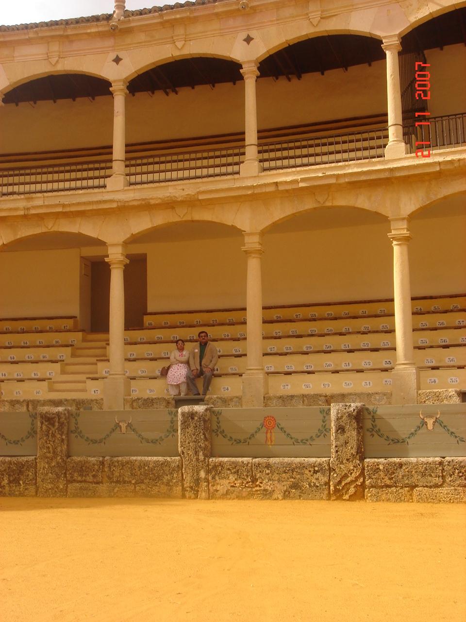 Bull Ring Details, Ronda,Spain