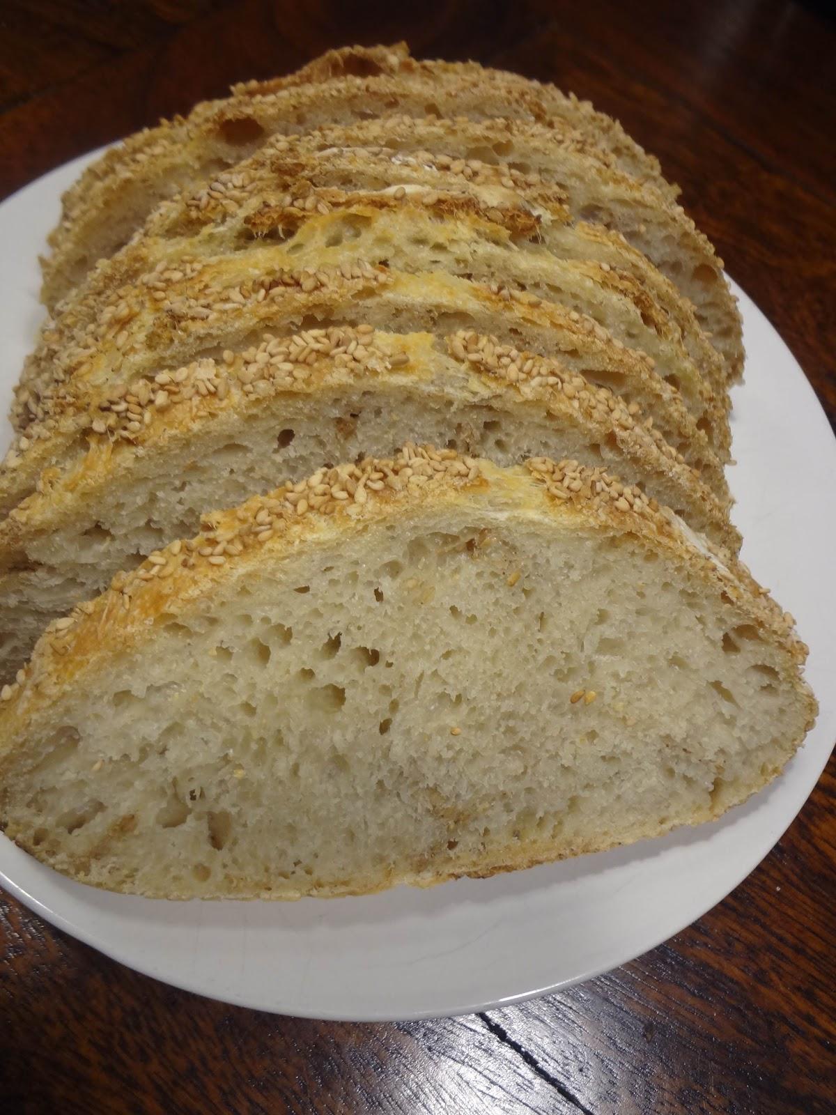 Duizenden1dag: No knead bread van Jim Lahey