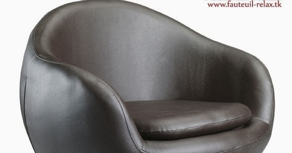 fauteuil egg pivotant en simili cuir fauteuil relax. Black Bedroom Furniture Sets. Home Design Ideas