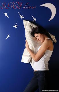 message bonne nuit mon amour