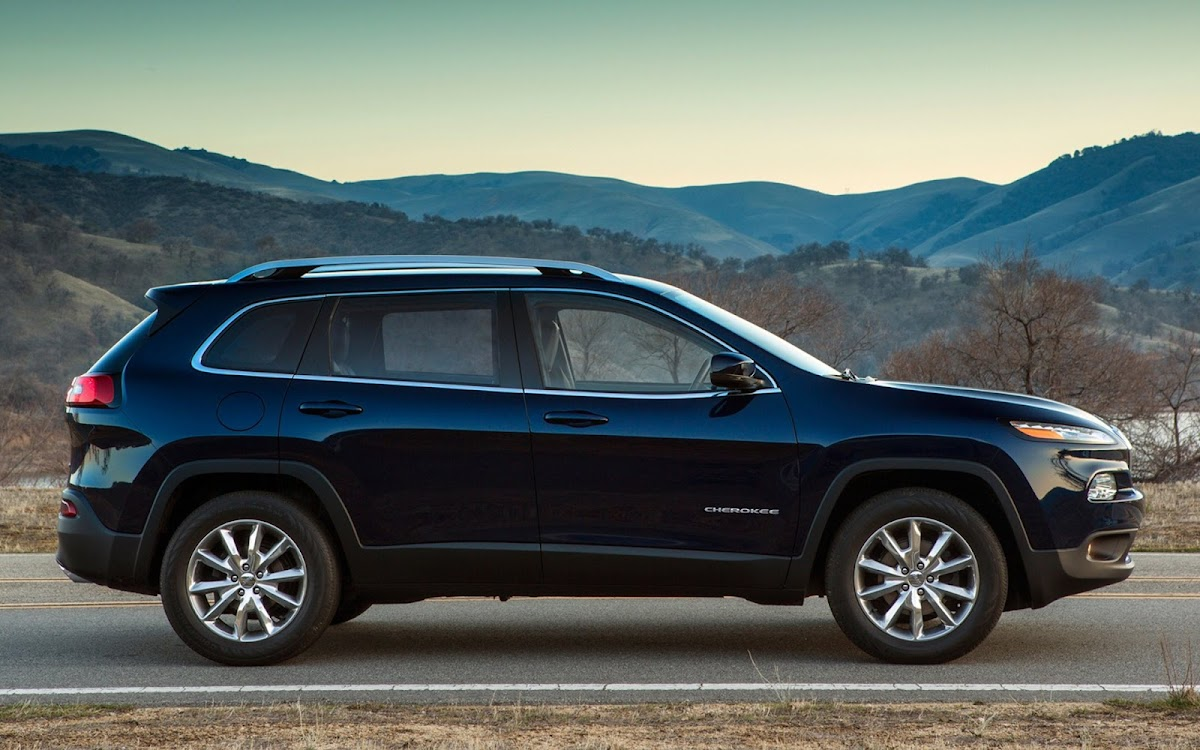 2014 Jeep Cherokee Widescreen HD Wallpaper 1