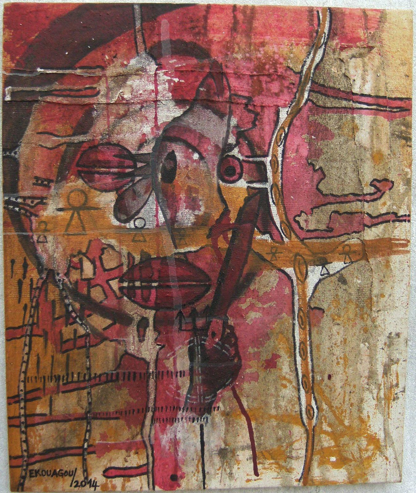 HIBIESSO,2014,60x50Cm,acrylic on canvas