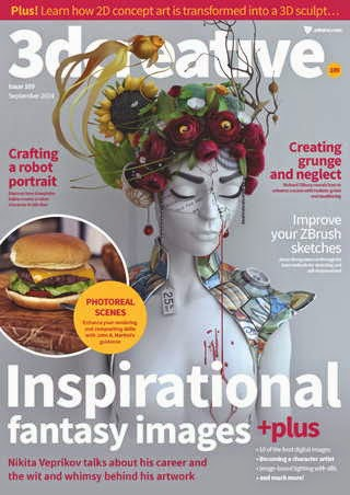 3D Creative Magazine Issue 109 September 2014