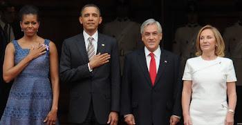 Obama no dejó de alabar a Chile que se ha colocado muy adelante y a Piñera: