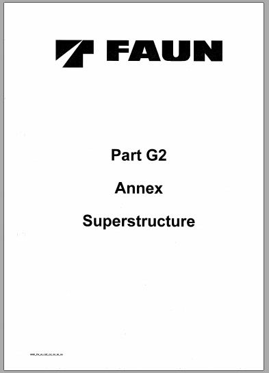 Free Automotive Manuals Tadano Faun AmlB Operation Manual For Faun